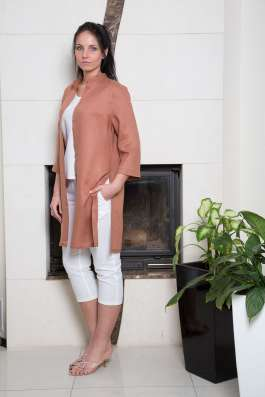 Туника женская 100% лен известной марки одежды LOOK
