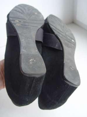Туфли 39 размер замша натуральная