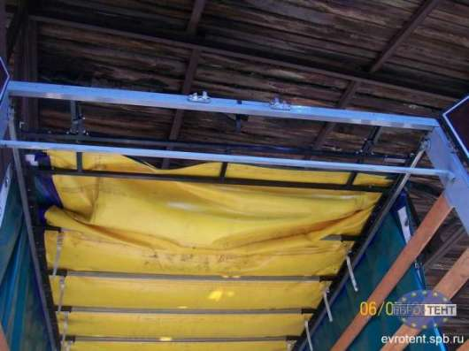 Сдвижные крыши, установка, ремонт, обслуживание, тенты, ремонт и реклама на тентах