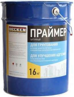 Праймер битумный Decken (Ищем дилеров)