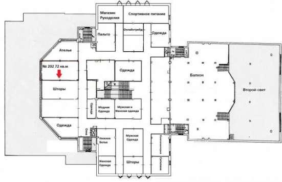Торговое помещение 72 кв.м