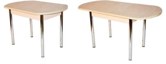 Кухонные столы оптом от производителя. Хром