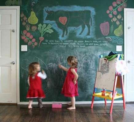 Наклейка на стену, доска для рисования, грифельная