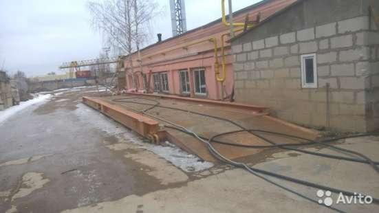 Весы автомобильные 80 тонн в Санкт-Петербурге Фото 1