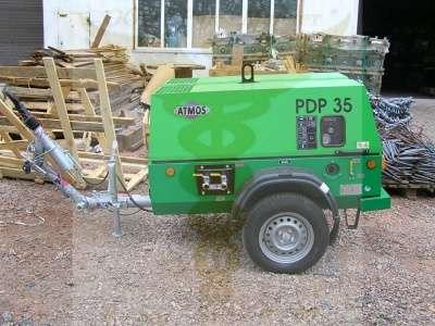 Дизельный компрессор Atmos PDP 35