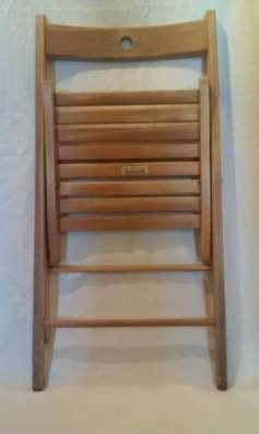 Стул складной деревянный б/у