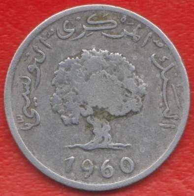Тунис 5 миллимов 1960 г. в Орле Фото 1
