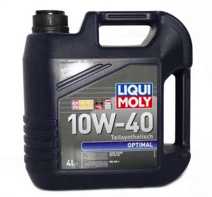 Масло Liqui Moly Optimal 10W40 полусинтетика 4литра