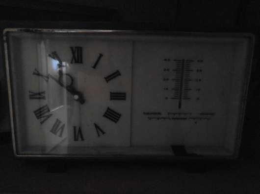 Продам мех. часы с барометром и термометром. в Кемерове Фото 1