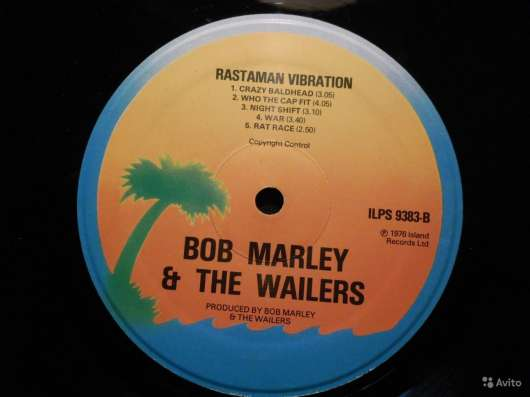 Bob Marley -Rastaman Vibration (UK) в Санкт-Петербурге Фото 1