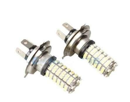 Светодиодная лампа H4 120 LED (2шт.)