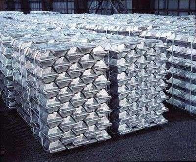 Чушки алюминиевые А999, А8, А6, А7 и др. на экспорт