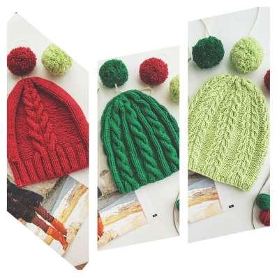 Весенние шапочки для взрослых