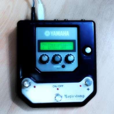 Yamaha Magic stomp (мультипедаль/процессор)