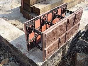 Несъемная опалубка для возведения фундаментов, домов, гаража