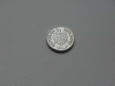 Монета 1 Бан 1993 год Молдавия в Москве Фото 1