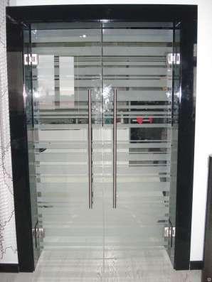 Стеклянные межкомнатные двери в г. Караганда Фото 5