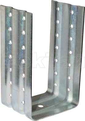 Скрытый металлический крепёж ДекТай Краб КН2 Артикул: КН2