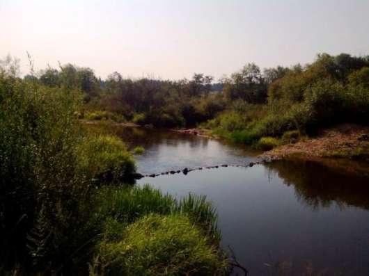 Участок на берегу реки, д. Глядково.