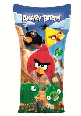 Матрас надувной детский Angry Birds длина 119 см, Bestway