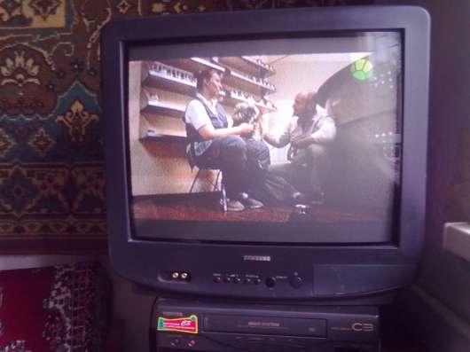 ТВ. SAMSUNG, пульт.антен. усилит. видеомагн.,TOSHIBA.кассеты в Асбесте Фото 2