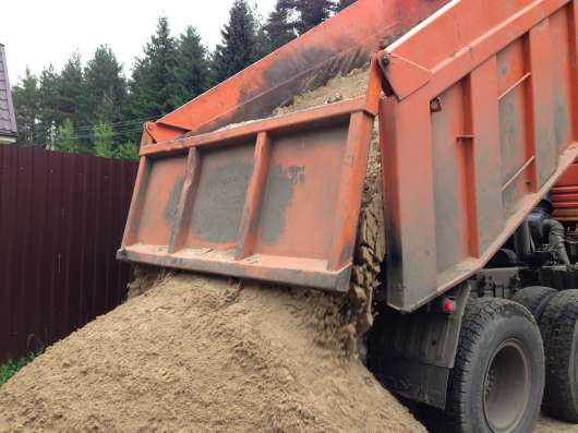 Карьерный Песок с доставкой по городу и области