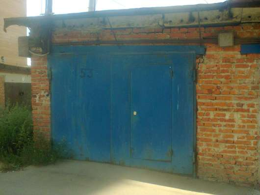 Продаю кирпичный гараж