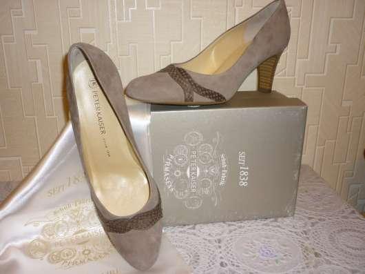 Нарядные замшевые туфли