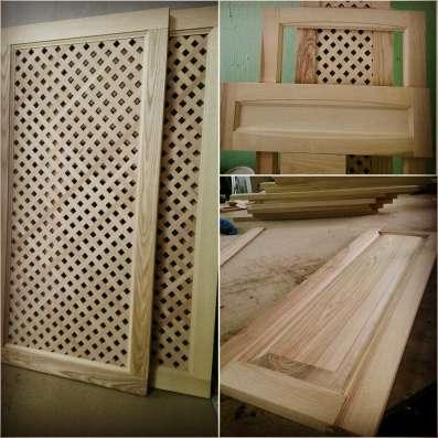 Фасады из натурального массива дерева от производителя