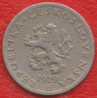 Чехословакия 20 геллеров 1929 г.