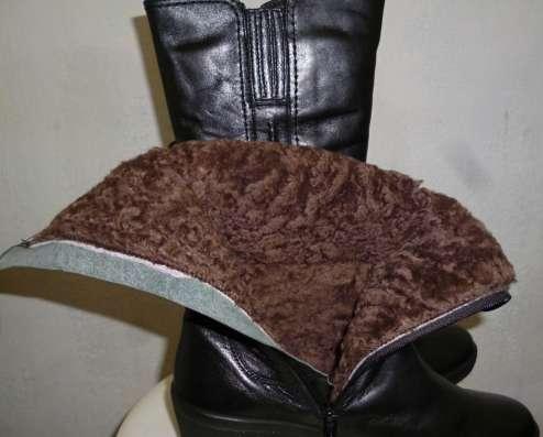 Продам сапоги женские зимние, новые, размер 38, цвет черный в Челябинске Фото 2