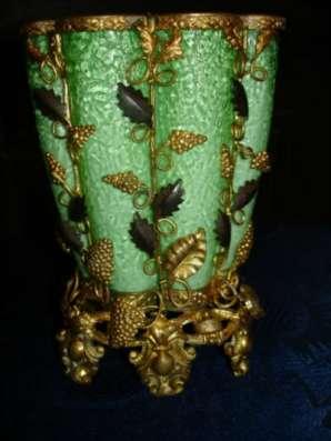 Старин.ваза,двухслой.стекло 19век в Санкт-Петербурге Фото 2
