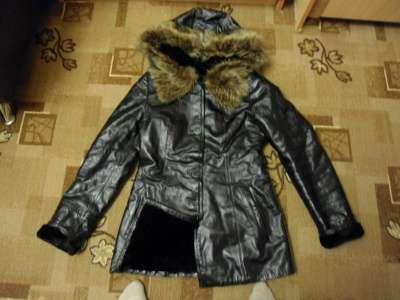 кожаная куртка vito ponti