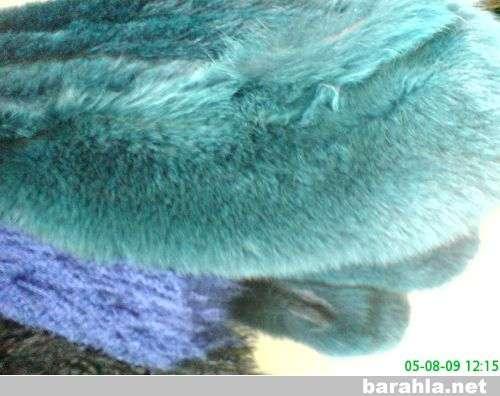 опушки из натурального меха разных цвет