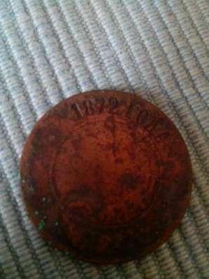 Монета 1872 года в г. Симферополь Фото 4