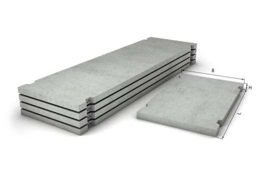 Плиты дорожные ширина 6000 длина 1200 толщина140