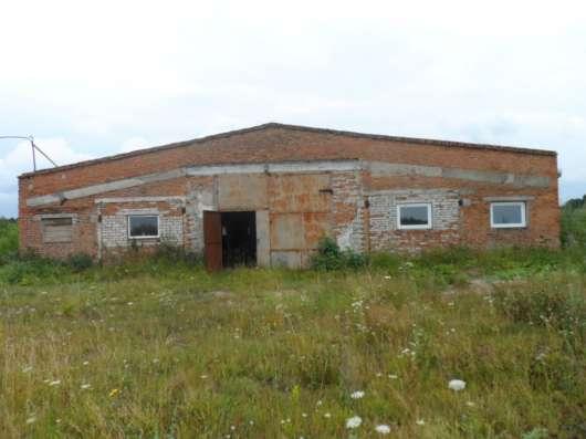 Продам территорию бывшего сельхоз. предприятия