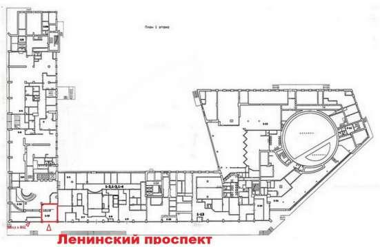 Универсальное помещение 37,5м2 на Ленинском пр. в аренду