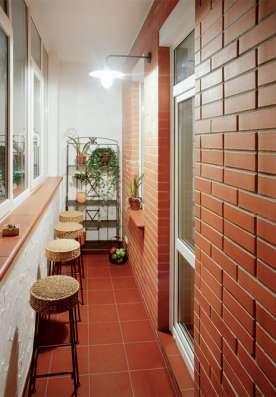 Отделка балконов и лоджий в Москве Фото 2