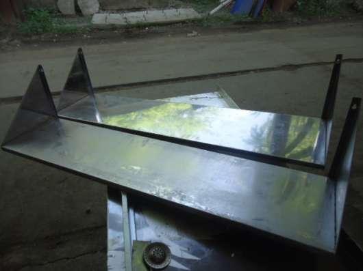 Полка нержавеющая сталь длина 1200 мм