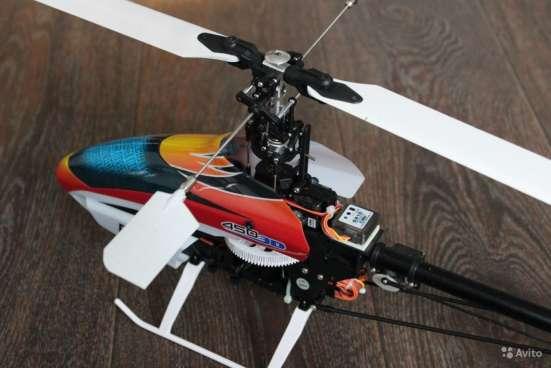 Радиоуправляемый вертолет Blade 450 3D + аккум в Москве Фото 2