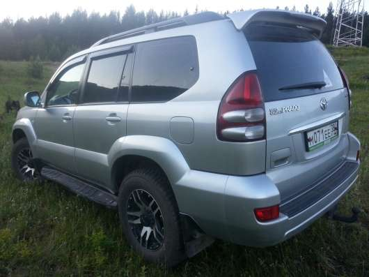 Продажа авто, Toyota, Land Cruiser Prado, Автомат с пробегом 120000 км, в г.Усть-Кут Фото 3