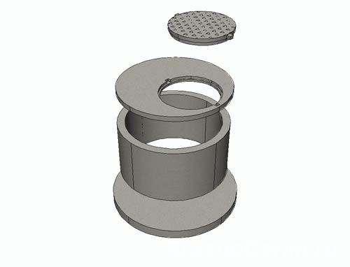 Кольца стеновые от производителя КС 0,7м, 1м, 1.5м, 2м