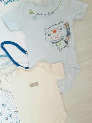 Большой лот одежды основной и не только для малыша р.68-80 в Владивостоке Фото 3