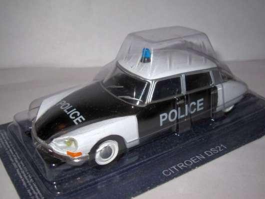 Полицейские машины мира №27 CITROEN ID полиция франции в Липецке Фото 2