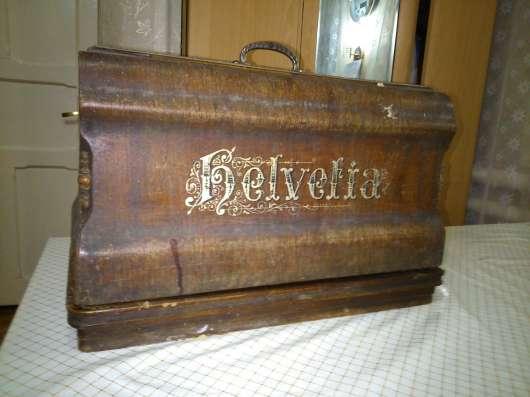 Старинная швейная машинка Belvelia