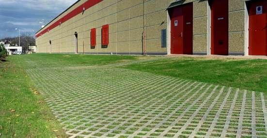 Пластиковая модульная газонная решетка 1200*800*40