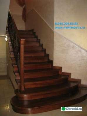 Красивые лестницы для дома, коттеджа Новая Лестница в Орехово-Зуево Фото 2