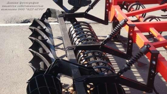 Культиватор сплошной обработки КСО 6,4 прицепной складной