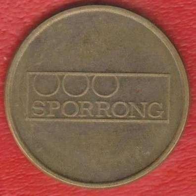 Жетон игровой Sporrong Швеция 24 мм